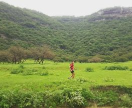Trail run in Salalah