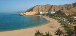 شاطئ في عمان