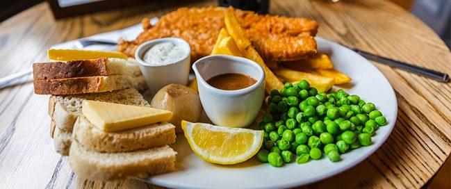 Food adventure - England
