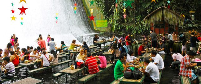 Labassin Waterfall Restaurant, Philippines