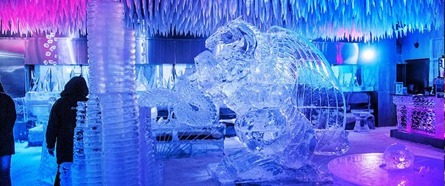 Chillout Ice Lounge, Dubai