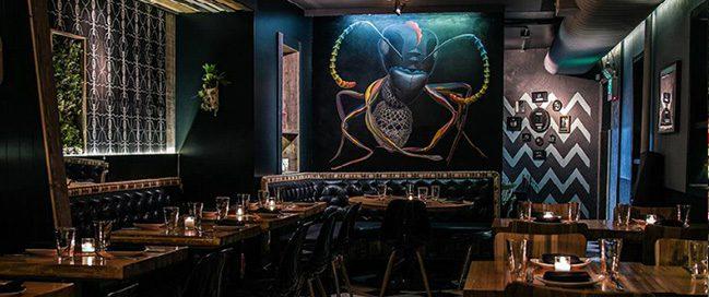 The Black Ant restaurant, New York