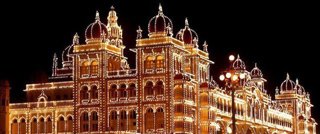 India: Best tourism places to visit - Mysore Palace