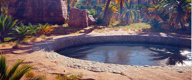 Siwa Oasis - Cleopatra bath ... The kings' bath