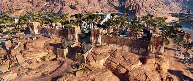 استمتع برحلة عبر التاريخ في معبد آمون