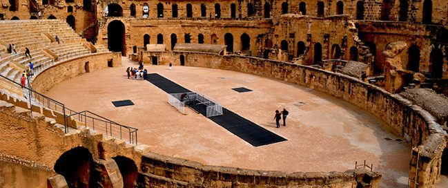 Best places in Tunisia to visit - The Roman Palace Theater