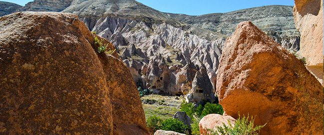 Cappadocia - Rock climbing in the open Zlaffi Museum