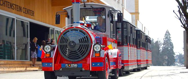Ride the Citytrain in Vaduz