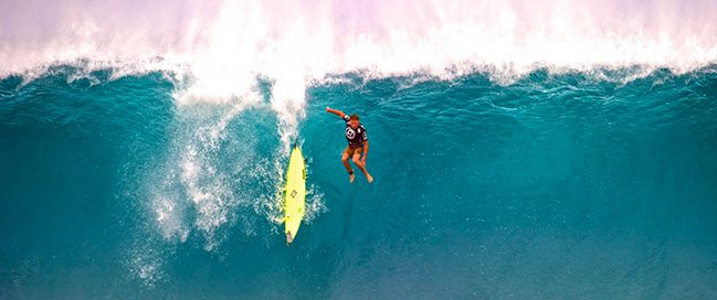 Hawaii - Practice the giant surf