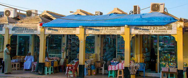 Buy souvenirs at Al Husn Souq