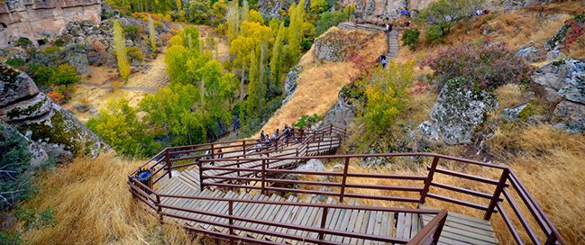 Cappadocia - See the wildlife in the Valley of Ihlara