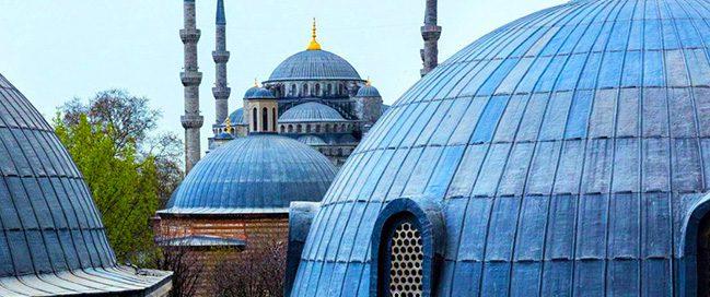 Cappadocia - Visit the blue mosque
