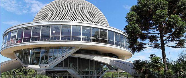 Best Italian places to visit - The Planetario di Milano dome
