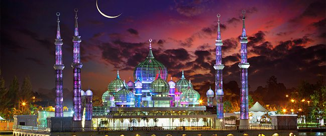 The best mosques in the world - Crystal Mosque