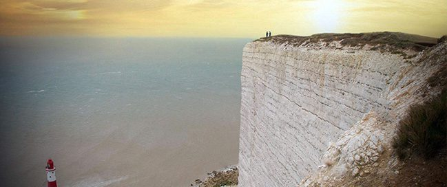 The Edge of the world, England