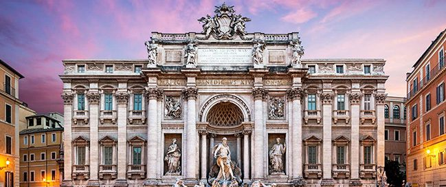 Best Italian places to visit - Trevi Fountain