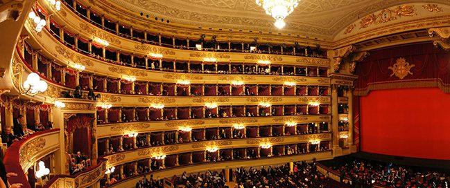 Best Italian places to visit - La Scala Milan Theater