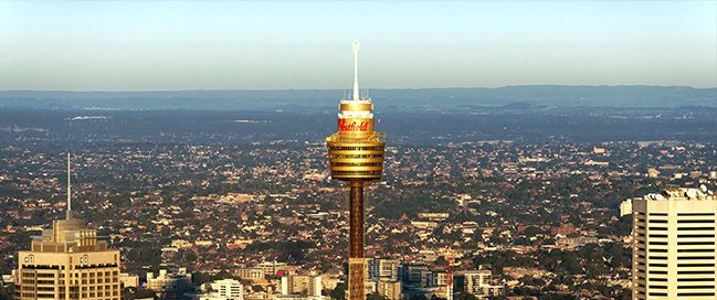 السياحة في سيدني - برج سيدني Sydney Tower