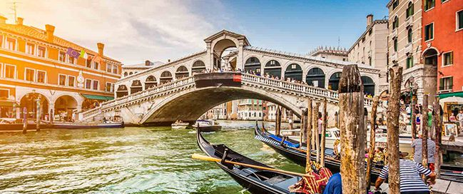 Best Italian places to visit - The Grand Canal in Venice