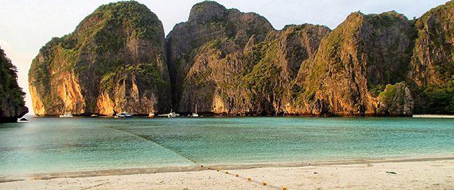 اجمل شواطئ العالم - شاطئ خليج مايا كوه فى فى ليه