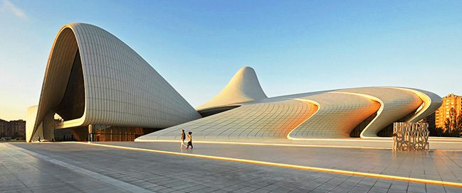 See what's happening in Heydar Aliyev Center