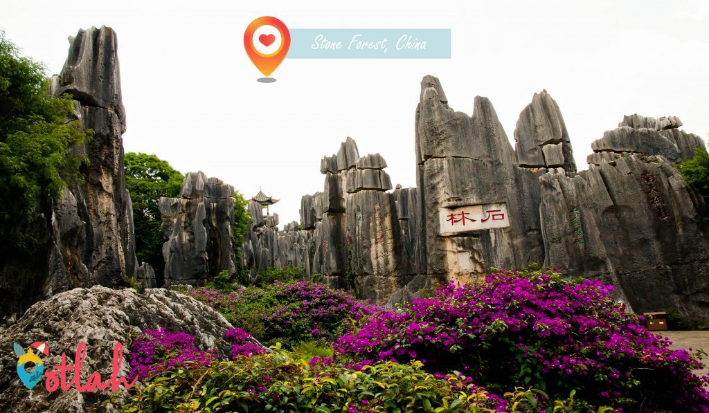 The Most Unusual Places in the World - Stone Forest in China