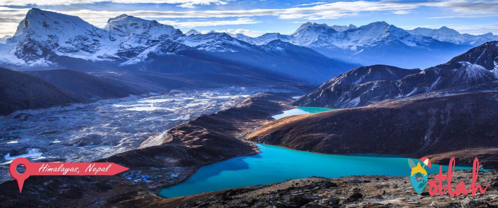 Take a panoramic flight over the Himalayas