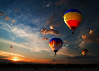 Hot Air Balloon Activity: Journey to discover the world from above