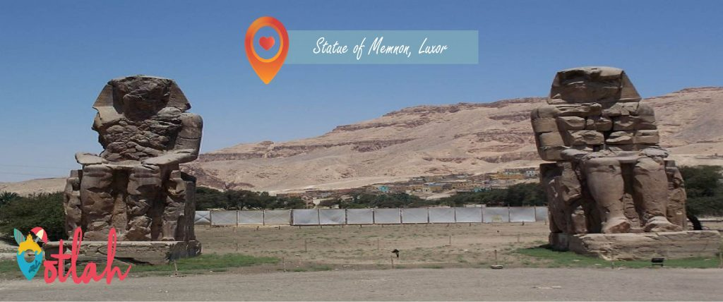 Things to do in Luxor - Statue of Memnon