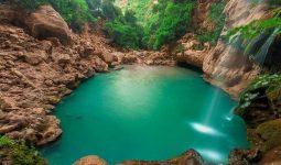 Akchour waterfalls