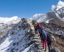 تسلق الجبال في نيبال