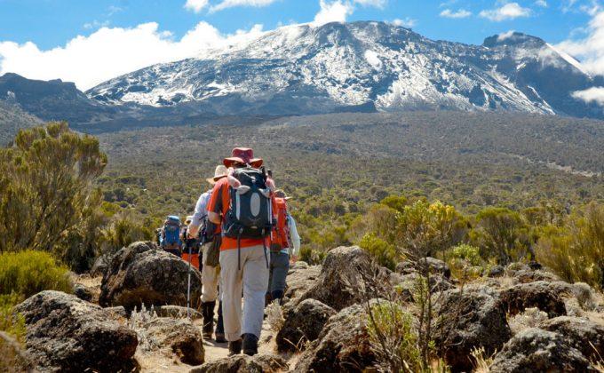 قمة جبل كليمينجارو