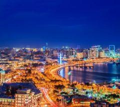 Baku, the capital of Azerbaijan