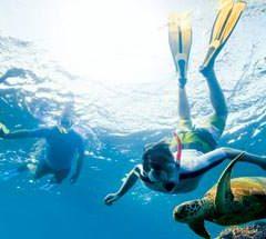 Snorkeling sports in Amwaj island