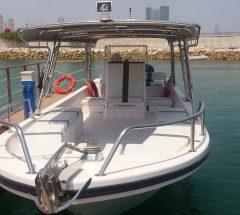 Open boat in Manama, Bahrain