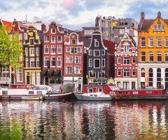 امستردام و جمالها الذي لا مثيل له