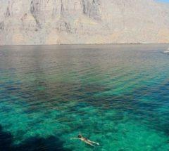 Khasab cruise at Oman