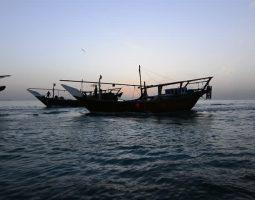 Open boat in Manama