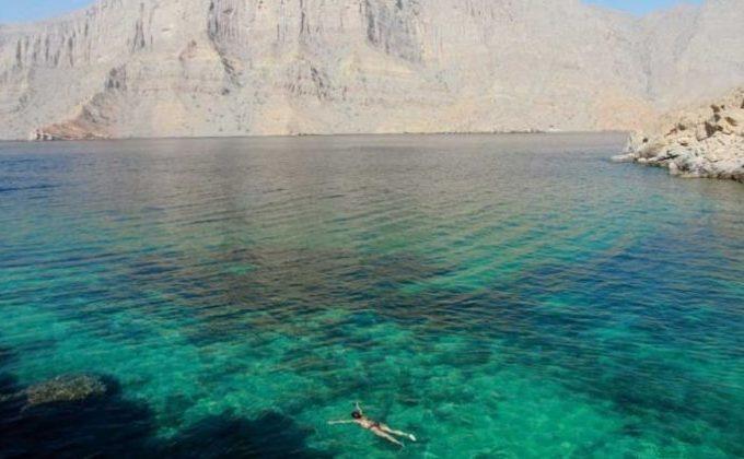 رحلة بحرية في خصب في عمان