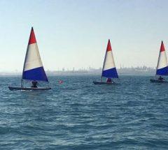 Sailing boats in Bahrain