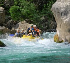 Cetina river sailing adventure