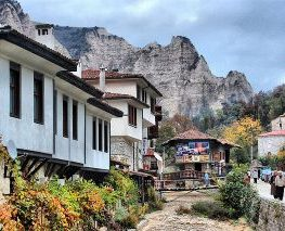 Charming town of Melnik