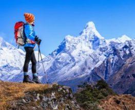 السير علي الجبال في نيبال