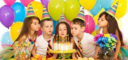 حفلات أعياد ميلاد للأطفال (الباقة الفضية)
