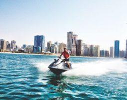 Jet ski rides in Bahrain