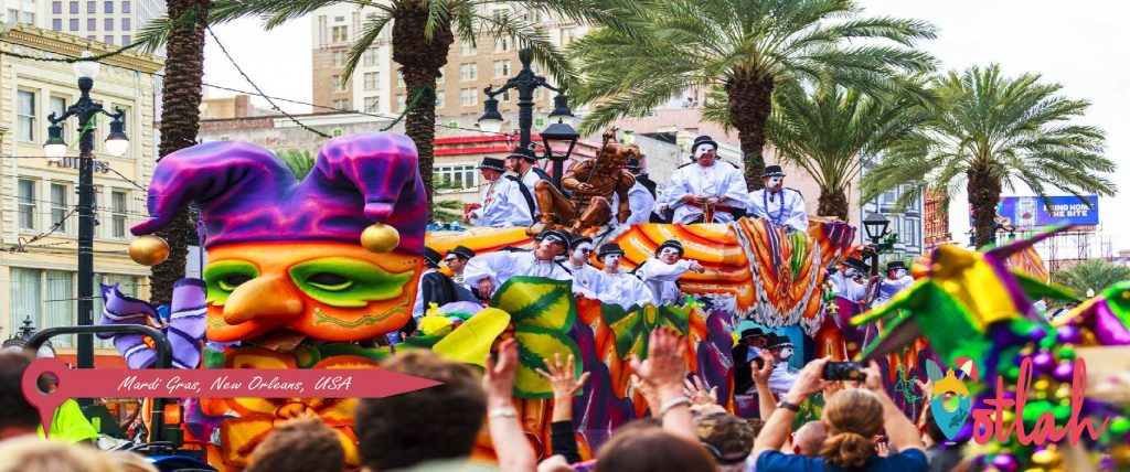 Mardi Gras, New Orleans, USA
