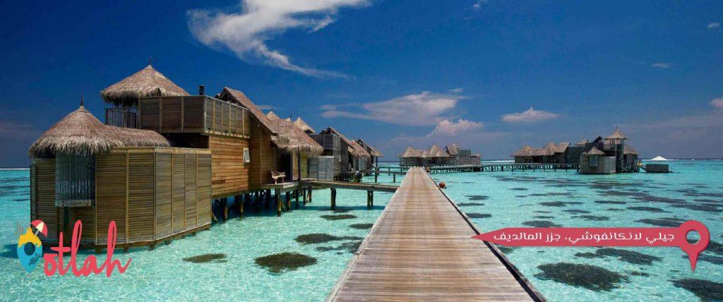 جيلي لانكانفوشي، جزر المالديف