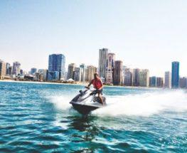 التزلج المائي في البحرين