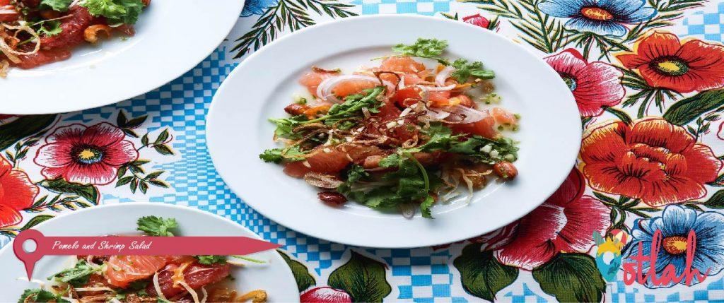 Pomelo and Shrimp Salad