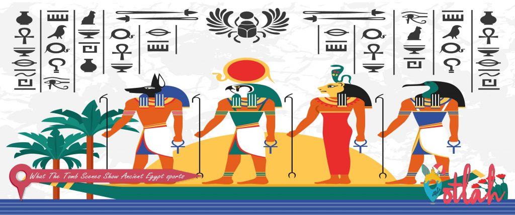 What The Tomb Scenes Show Ancient Egypt sports